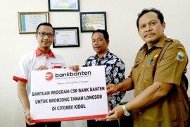 Bank Banten Bantu Korban Tanah Longsor Citorek Kidul