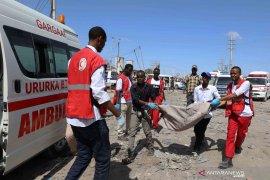 Turki evakuasi korban ledakan dahsyat Mogadishu