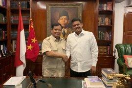 Prabowo terima kunjungan menantu Jokowi, ini pesannya