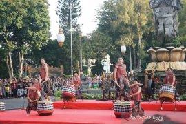 """Pembukaan """"Denpasar Festival"""" ke-12 ditandai pemukulan drum Jigu"""