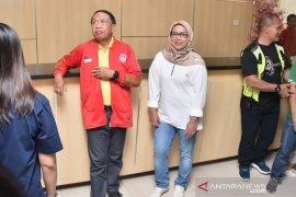 Zainuddin Amali tinjau Stadion Pakansari calon venue Piala Dunia U-20