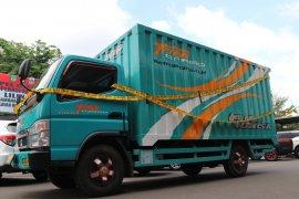374 kg ganja Aceh dikirim lewat jasa ekspedisi