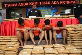Pengedar ganja dari Aceh diberi upah Rp50 juta