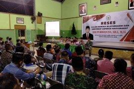 Edi Purwanto serap aspirasi masyarakat di Kelurahan Jelutung