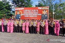 Puluhan Personel Polres Tanjungpinang naik pangkat