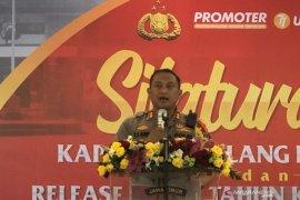 Sepanjang 2019, angka kriminalitas di Kabupaten Malang turun