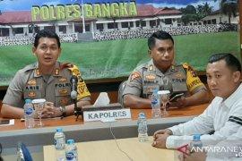 Polres Bangka catat 374 tindak pindana selama tahun 2019