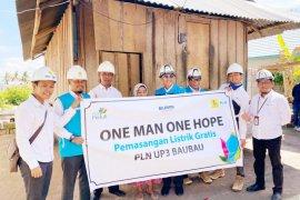PLN Sultra berikan sambungan listrik gratis di Wakatobi