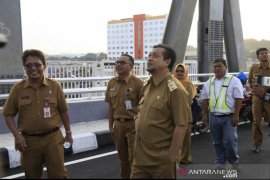 Jembatan Mahakam IV siap beroperasi awal 2020