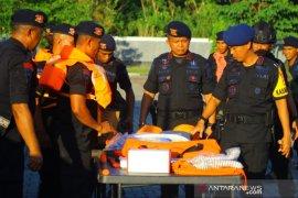Brimob Polda Maluku amankan malam pergantian tahun 2019