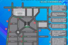 Ini rekayasa arus lalu lintas saat Car Free Night di Jakarta