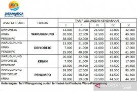 Jasamarga sesuaikan tarif Tol Surabaya-Mojokerto 3 Januari 2020