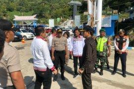 Bupati Simalungun monitoring pelayanan penyeberangan Danau Toba di Tiga Ras