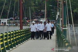Presiden Jokowi lewatkan pergantian tahun di Yogyakarta