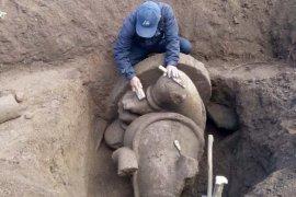 BPCB Jateng angkat temuan arca Ganesha di Desa Dieng Wonosobo