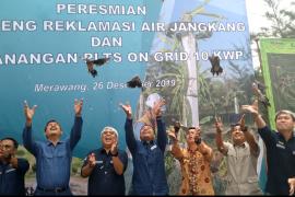 Antara TV - Peresmian dan Pencanangan PLTS Kampoeng Reklamasi PT Timah
