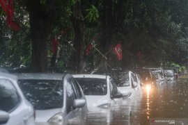 Telkomsel data perangkat jaringan terdampak banjir di Jakarta