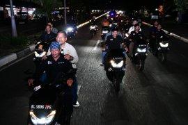 Amin-Zainal patroli ganti tahun menggunakan sepeda motor