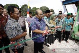 Desa Benua Baru Kutim manfaatkan dana desa bangun pasar