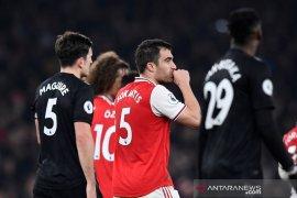 Arsenal bungkam  Manchester United 2-0