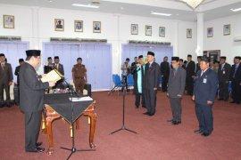 Bupati Paser Lantik Tiga Pejabat Eselon Dua