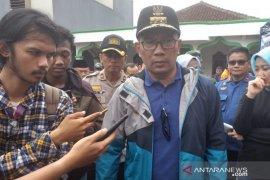 Ridwan Kamil ungkap banyaknya sistem pertahanan air di Jawa Barat yang jebol