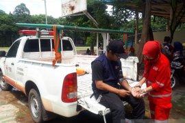 PMI Kota Tangerang bantu pemeriksaan kesehatan relawan banjir