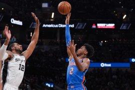Alexander dan Paul bawa Thunder tundukkan Spurs
