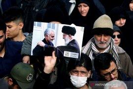 Rakyat Palestina di Gaza berkabung atas kematian Qassem Soleimani