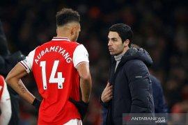 Arteta: Aubameyang tetap di Arsenal