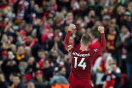 Jordan Henderson dinobatkan sebagai pemain Inggris terbaik 2019