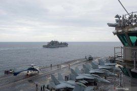 Kapal induk dan kapal perang milik Amerika Serikat akan berlabuh di Belitung
