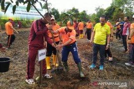 Polda Jambi gelar penanaman 600 pohon