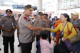 Penumpang di Bandara Kualanamu H+2 tahun baru 8.315 orang