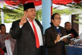 Mixnon Simamora dilantik sebagai Sekda Simalungun