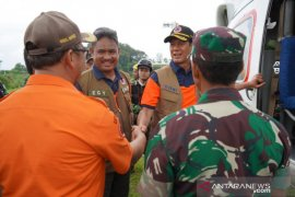 BNPB siagakan helikopter di Sukajaya Bogor akibat terputusnya akses darat