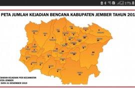 286 bencana di Kabupaten Jember selama 2019