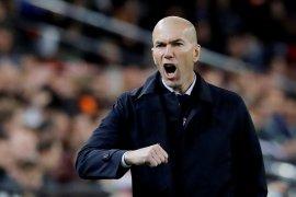 Menang di awal tahun, Zidane yakin Madrid juara La Liga
