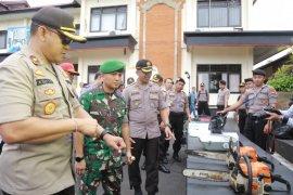 TNI-Polri di Bangli bersinergi kerahkan personel siaga bencana alam