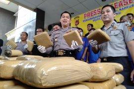 Ratusan pengedar narkoba di Karawang ditangkap