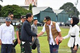 Jokowi instruksikan buka daerah terisolir akibat longsor di Sukajaya