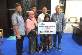 Taspen bayar jaminan kematian pegawai honorer Disbudpar Aceh