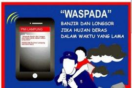 PMI Prov Lampung buka posko 24 jam siaga bencana
