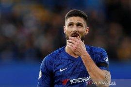 Striker Chelsea Olivier Giroud di ambang bergabung dengan Inter Milan