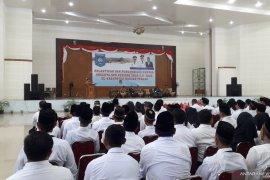 Bupati Bangka Tengah, Ibnu Saleh janji tingkatkan dana desa