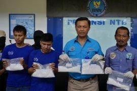 Warga Aceh pengedar 2 kg sabu ditangkap di NTB