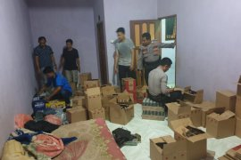Polres Tabalong sita ribuan botol miras