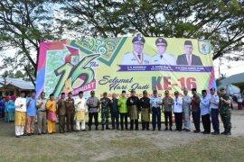 Dandim 0204/DS hadiri HUT Pemkab Sergai ke-16