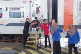 Jumlah penumpang angkutan Natal-tahun baru di Daop Madiun naik 11 persen