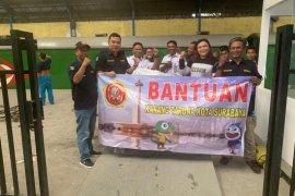 Forum Pengurus Karang Taruna Surabaya buka pos darurat bantuan banjir